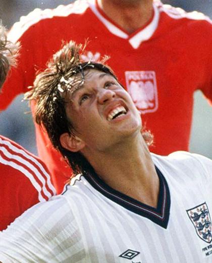 Polska - Anglia 0:3, 11.06.1986, porównanie piłkarzy, Gary Lineker