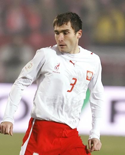 Serbia - Polska 2:2, 21.11.2007, Grzegorz Bronowicki, porównanie