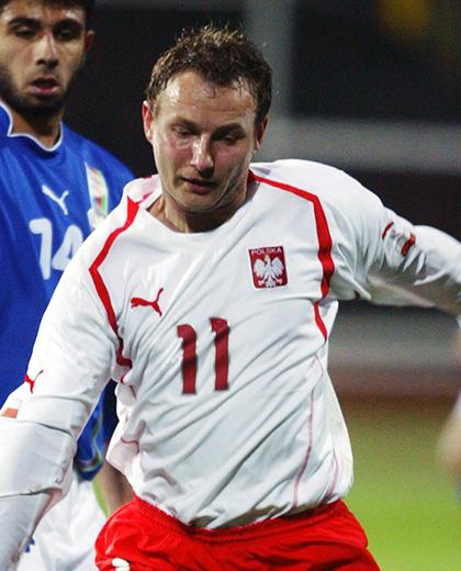 Tomasz Frankowski (mecz z Azerbejdżanem w Warszawie, el. MŚ 2006)