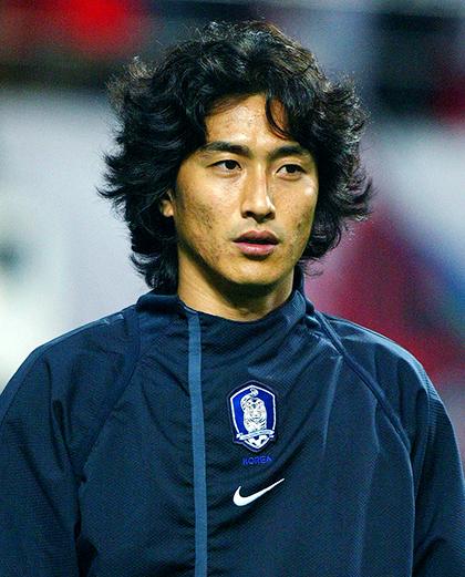Korea - Polska 4.06.2002, porównanie zawodników - Ahn Jung Hwan