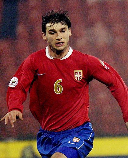 Serbia - Polska (21.11.2007), Branislav Ivanović - porównanie piłkarzy