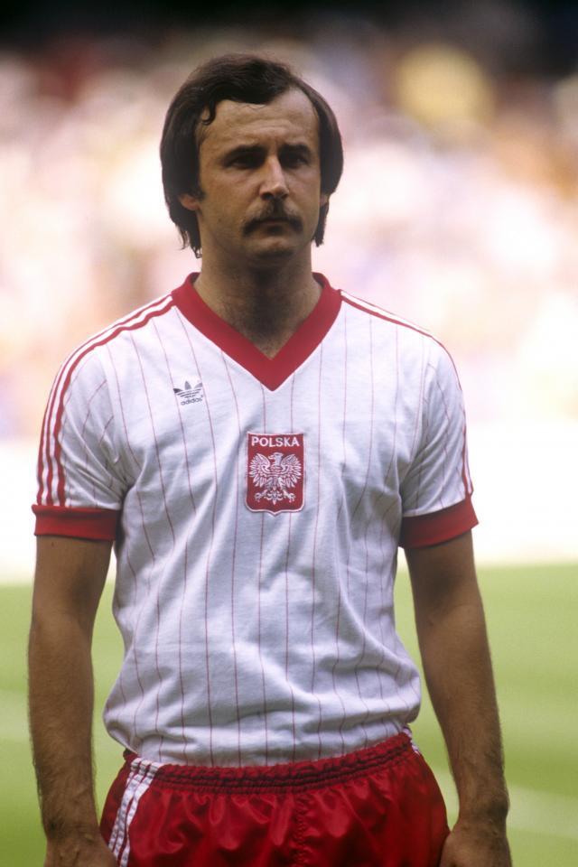 Polska - Francja (10.07.1982) - Janusz Kupcewicz