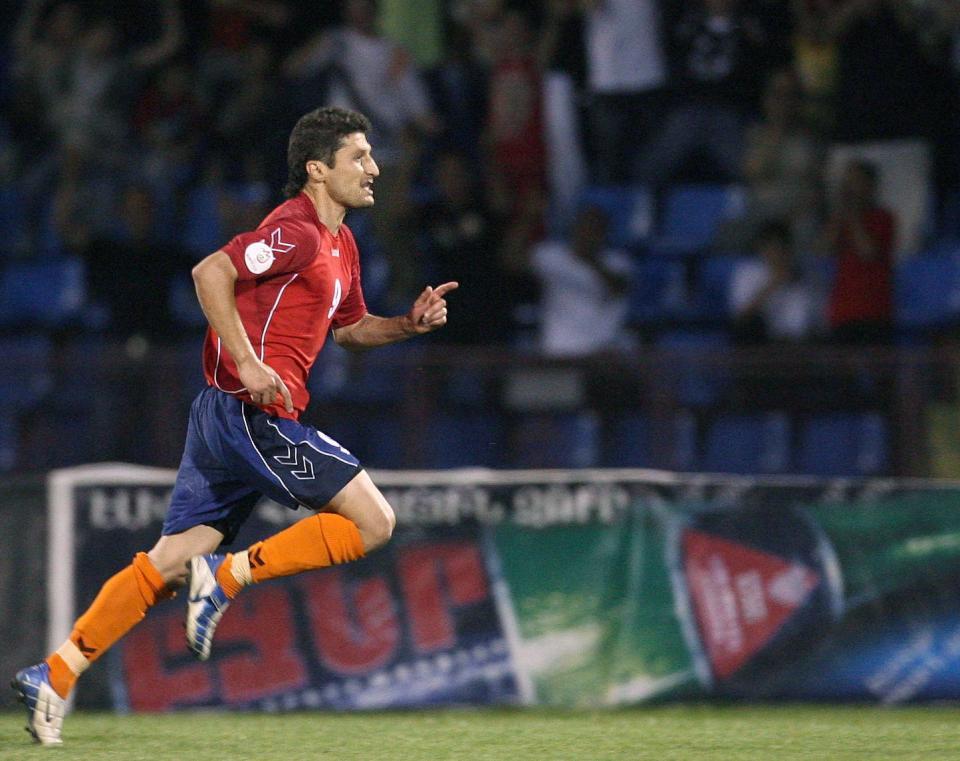 Armenia - Polska (06.06.2007) - porównanie graczy Hamlet Mchitarjan