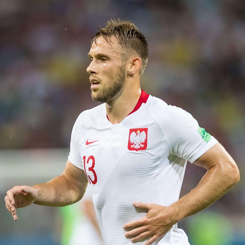 Polska - Kolumbia 0:3 (24.06.2018), Maciej Rybus