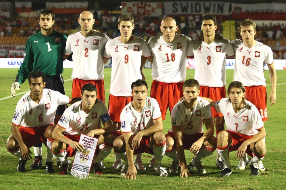 Wyjściowy skład reprezentacji Polski w meczu z San Marino.