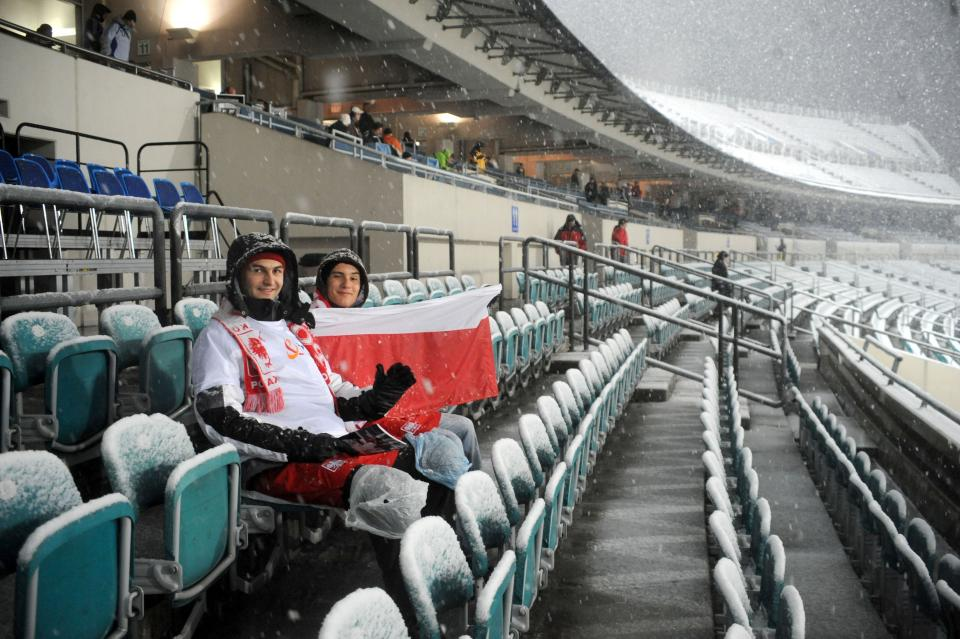 Podczas meczu ze Słowacją Stadion Śląski świecił pustkami. Biało-czerwoni tym razem mogli liczyć tylko na najwierniejszych kibiców.