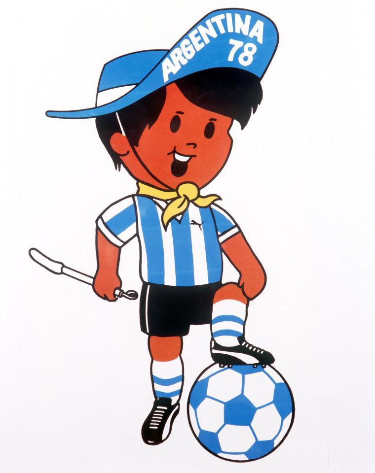 Gauchito Maskotka MŚ 1978