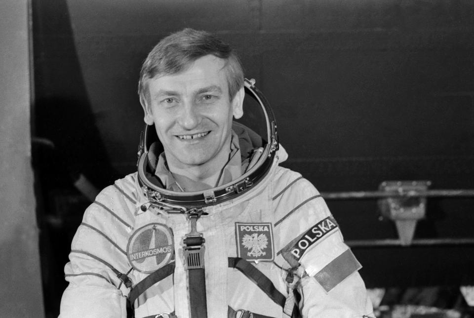 Pierwszy Polak w kosmosie - Mirosław Hermaszewski