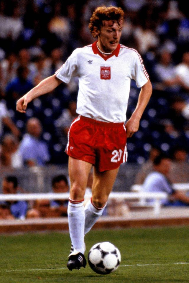 Polska - Belgia 3:0, 28.06.1982, porównanie piłkarzy Zbigniew Boniek