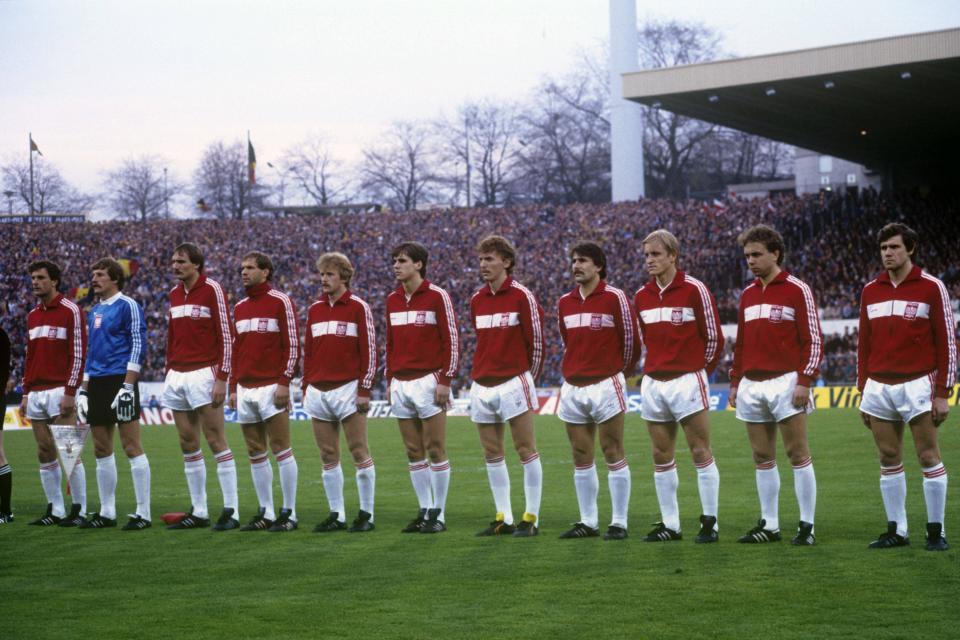 Belgia - Polska 2:0, 01.05.1985