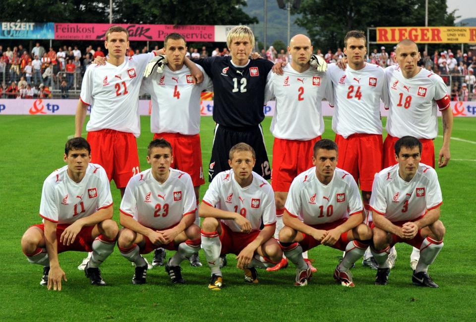 Reprezentacja Polski przed towarzyskim meczem z Macedonią w niemieckim Reutlingen.