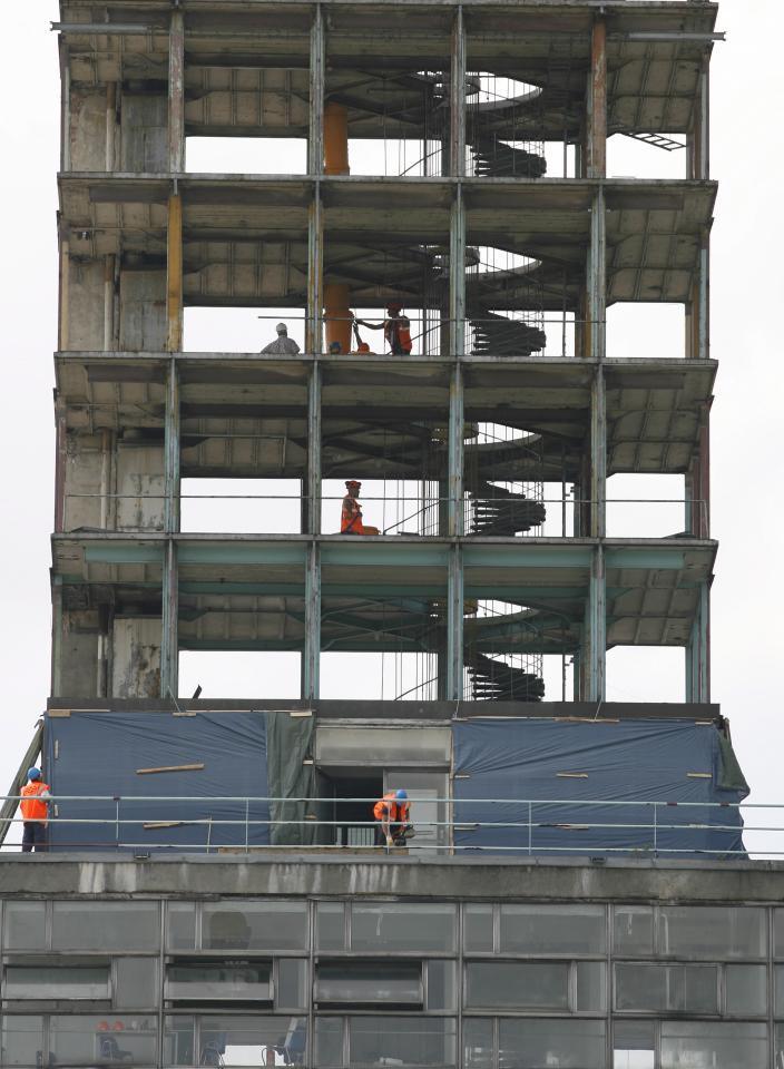 Wieża na Stadionie Śląskim