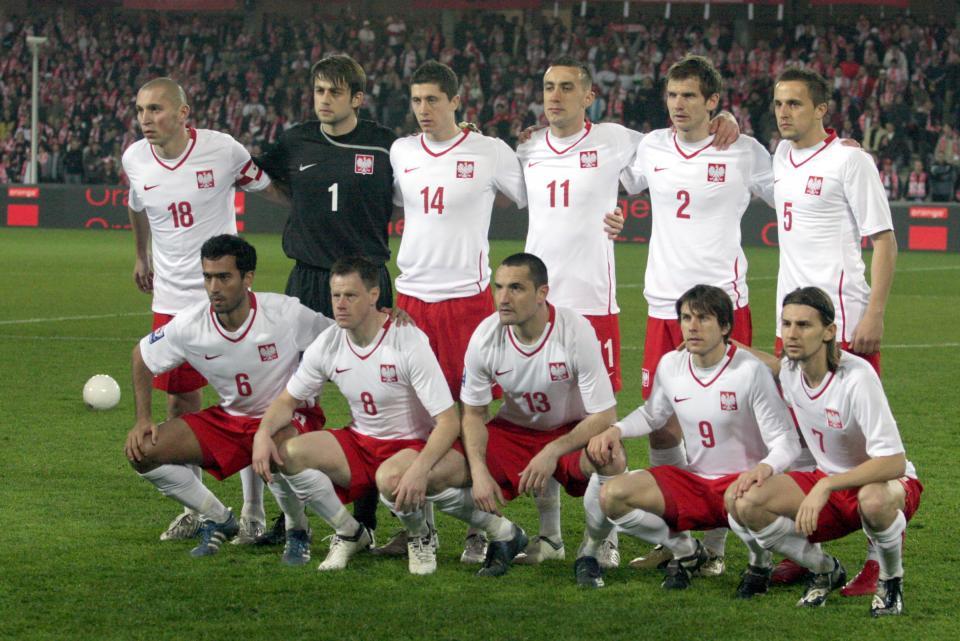 Wyjściowy skład Polski w meczu z San Marino.