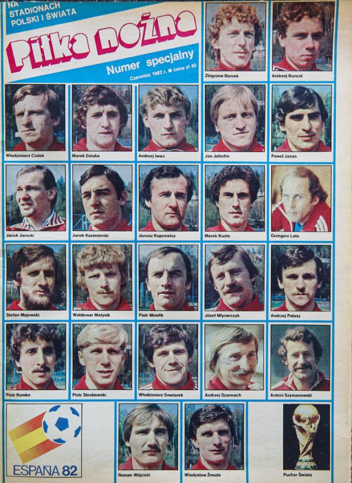 Piłka Nożna - wydanie specjalne przed mistrzostwami świata 1982