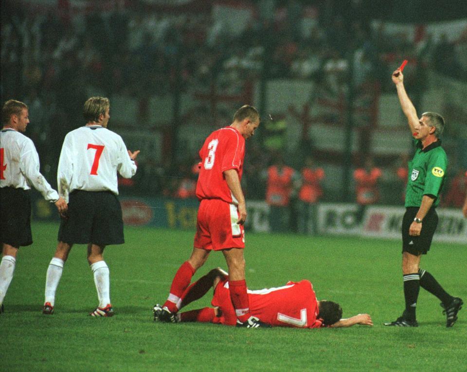 Polska - Anglia 0:0 (08.09.1999)