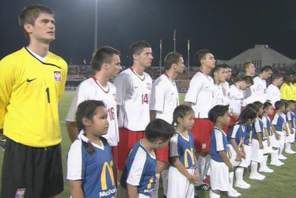 Reprezentacja Polski w meczu z Tajlandią