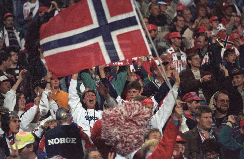 Kibice Norwegii
