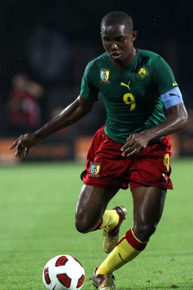 Porównanie piłkarzy - Samuel Eto'o - Polska - Kamerun (11.08.2010)