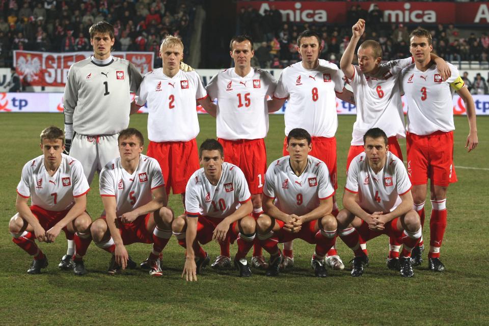 Reprezentacja Polski przed meczem z Estonią