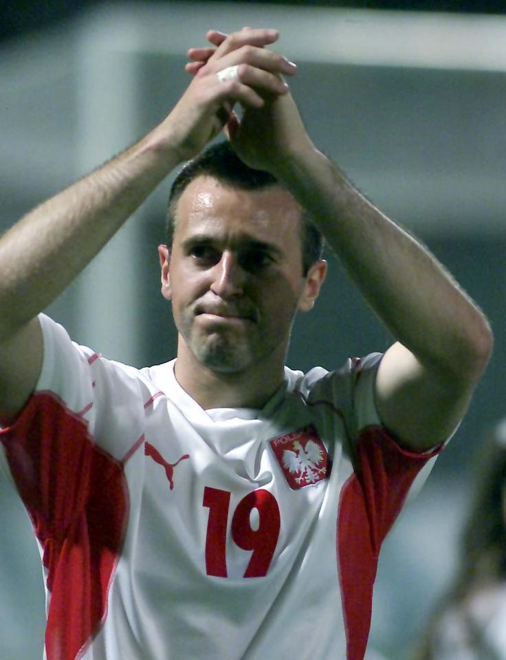 Maciej Żurawski strzelił jedynego gola w meczu z Estonią