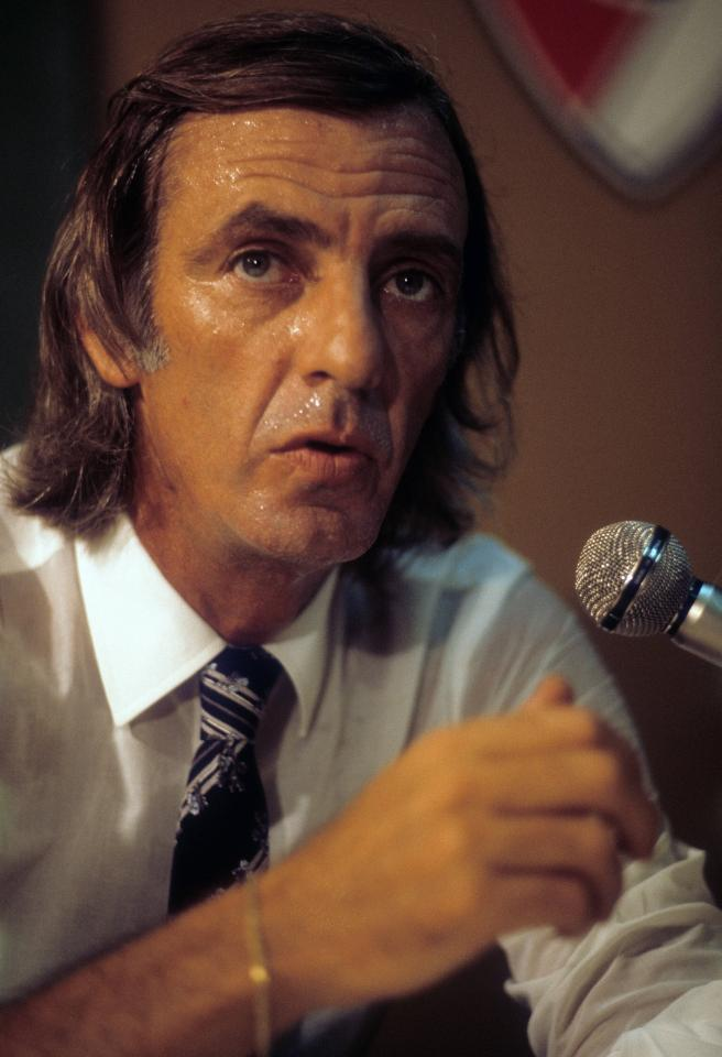 Selekcjoner reprezentacji Argentyny Cesar Luis Menotti