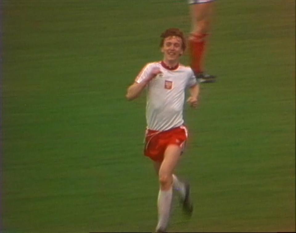 Zbigniew Boniek strzelił decydującego o wygranej gola w meczu ze Szkocją. 28 maja 1980 rok.