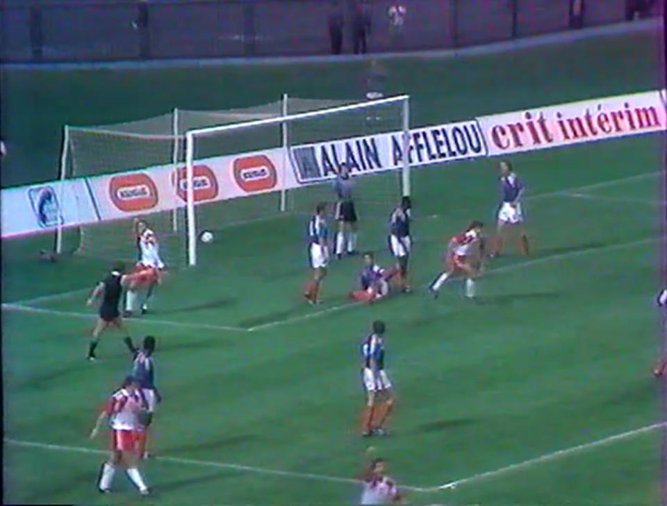 Jedyny moment radości w polskim zespole w meczu z Francją (1:5). W 17. minucie Jan Urban dał prowadzenie biało-czerwonym.