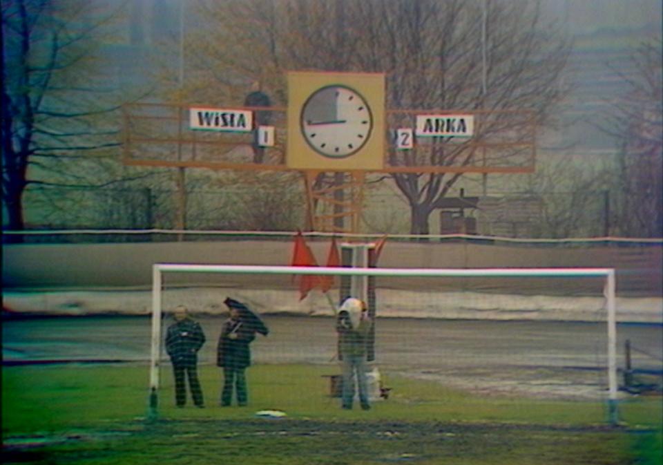 Zegar na stadionie Motoru Lublin