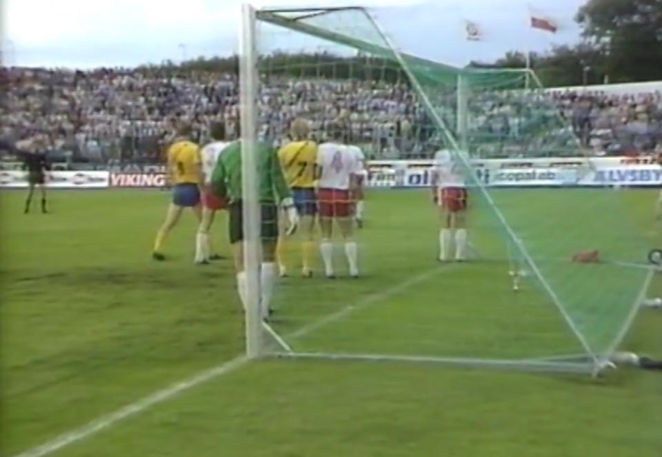Szwecja - Polska 1:0 (21.08.1985)
