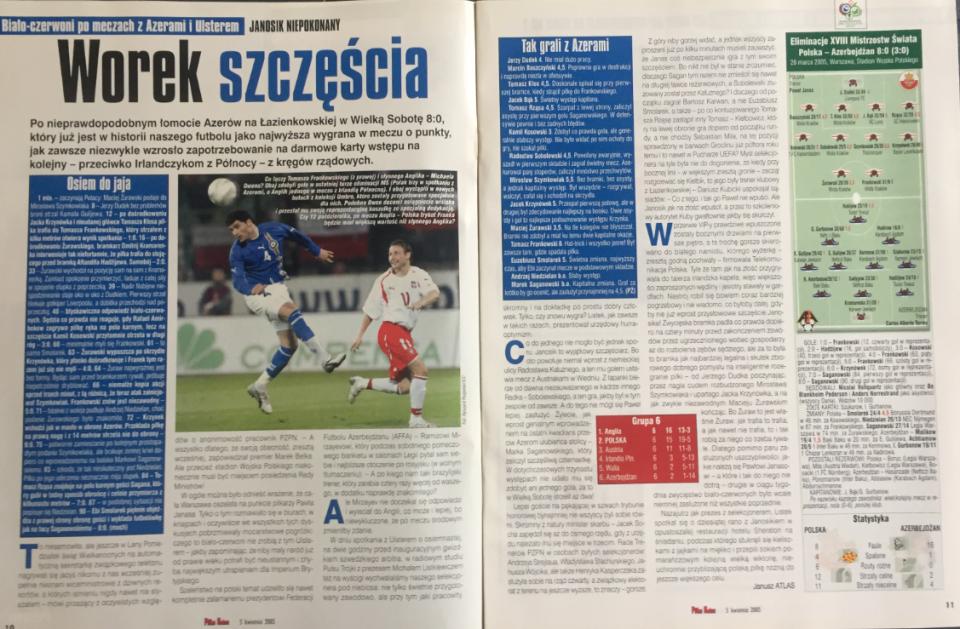 piłka nożna po meczu polska - azerbejdżan