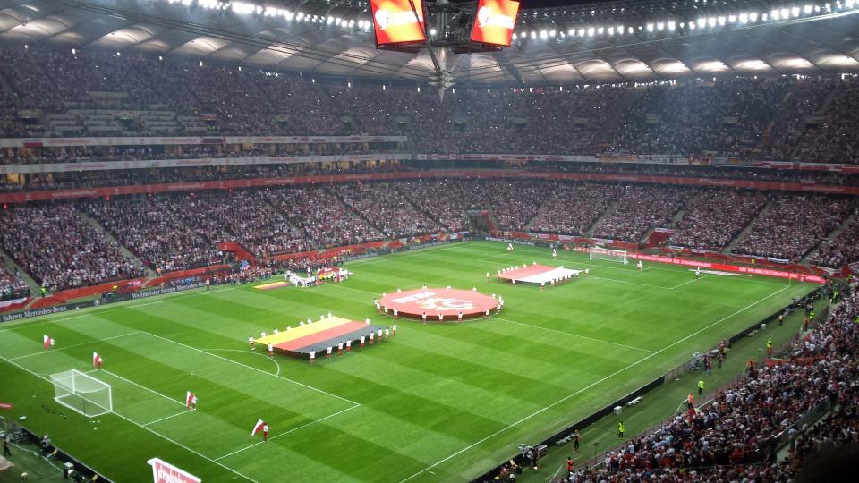 Zdjęcie z meczu Polska - Niemcy 2:0 (11.10.2014).
