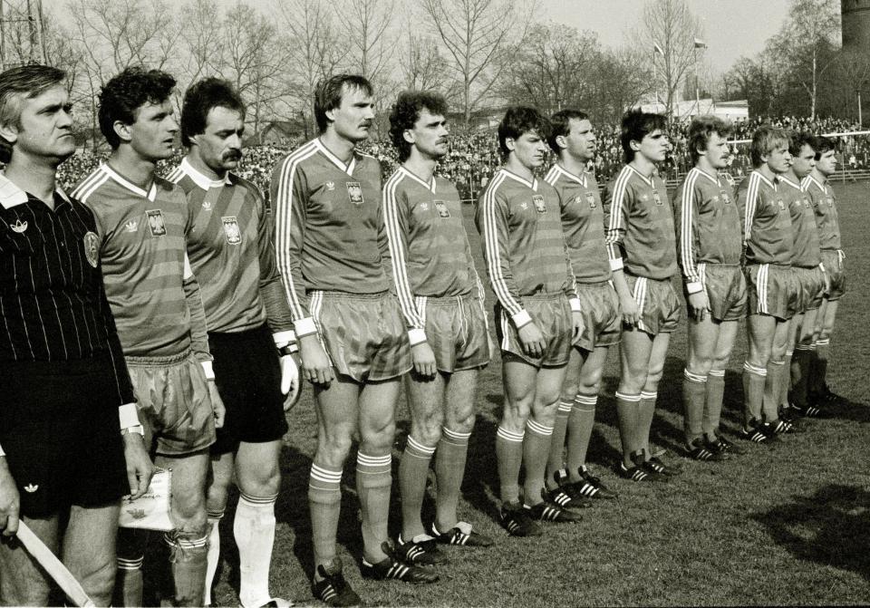 polska - finlandia (17.04.1985)