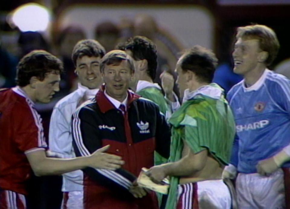 Manchester United - Legia Warszawa 1:1, 24.04.1991