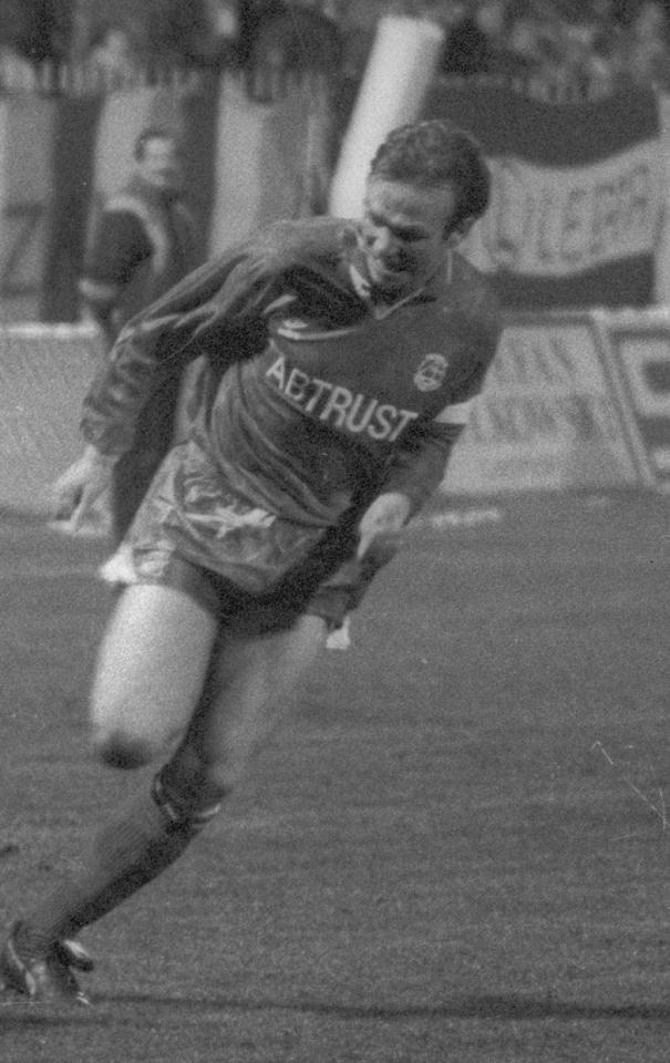 Alex McLeish, Aberdeen FC.