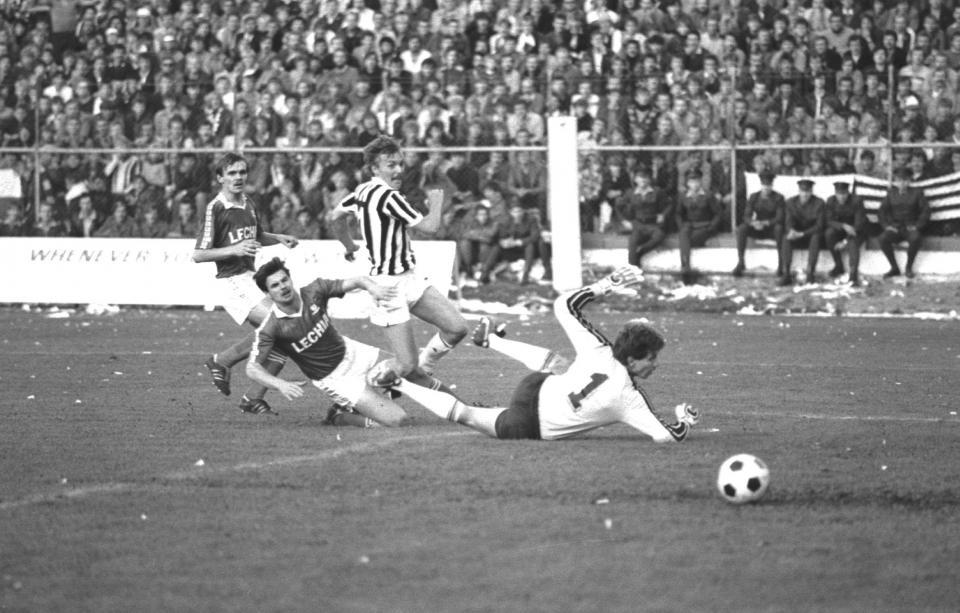 Lechia Gdańsk - Juventus Turyn 2:3 (28.09.1983)