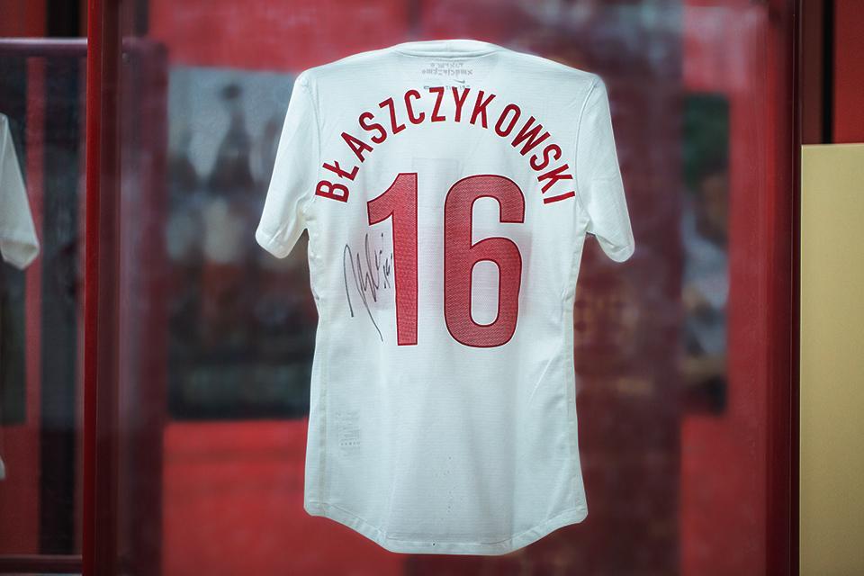 Koszulka Jakuba Błaszczykowskiego - tył