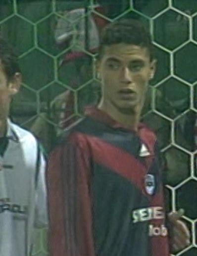 Groclin Dyskobolia Grodzisk Wielkopolski - Girondins Bordeaux 0:1 (26.02.2004) Marouane Chamakh do porównań