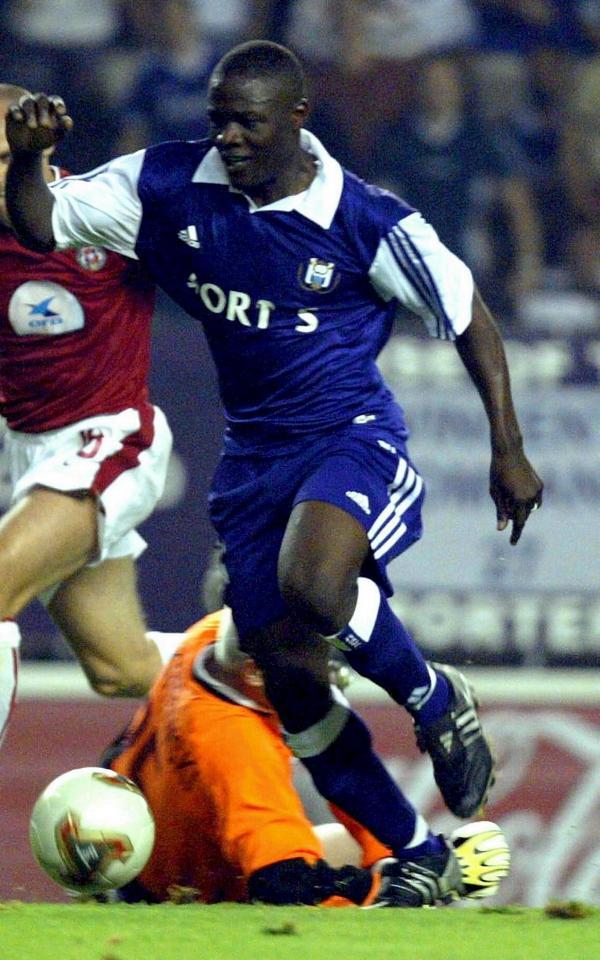 Anderlecht – Wisła Kraków 3:1, 13.08.2003