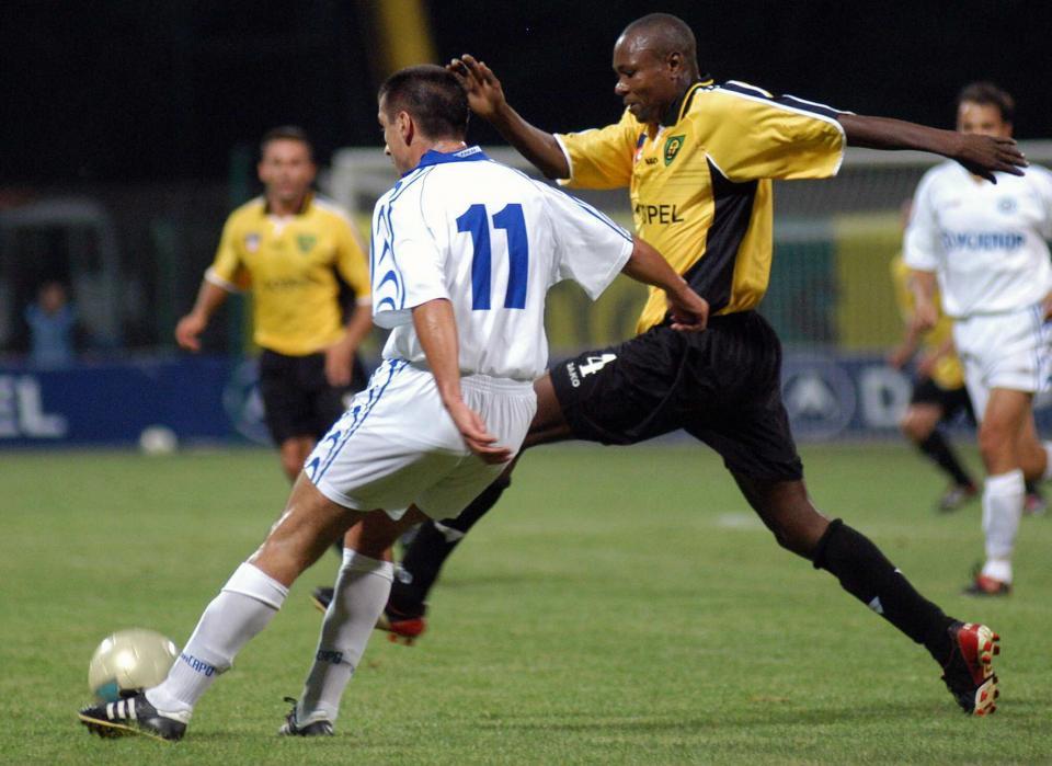 GKS Katowice - Cementarnica Skopje 1:1 (28.08.2003)