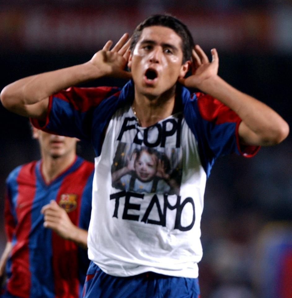 FC Barcelona – Legia Warszawa 3:0 (14.08.2002)