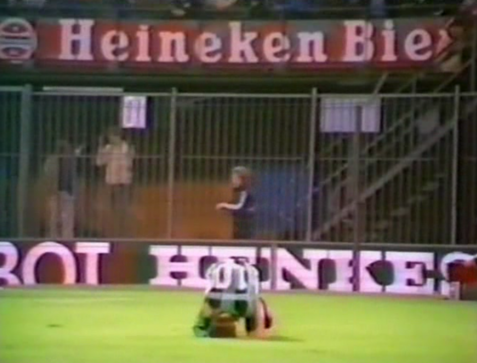 Feyenoord Rotterdam - Szombierki Bytom 2:0 (16.09.1981)