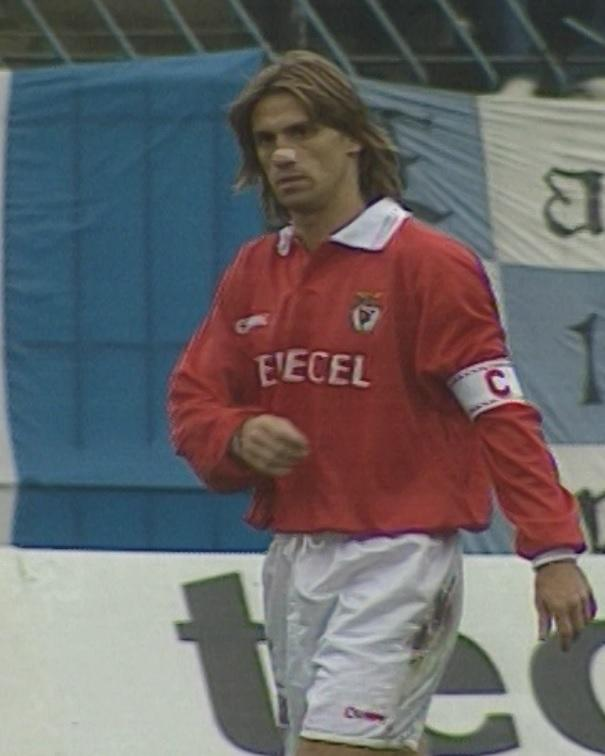 Ruch Chorzów – Benfica Lizbona 0:0 (26.09.1996) Joao Pinto