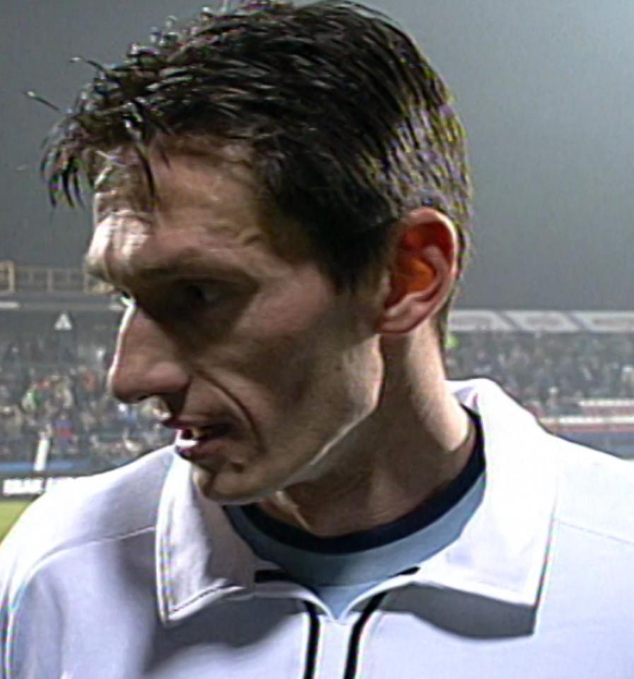 Amica Wronki - Malaga CF 1:2 (12.11.2002) Dariusz Gęsior do porównań