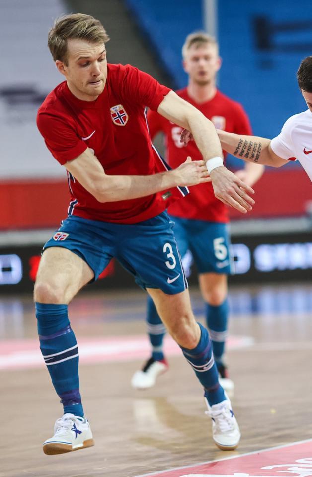 Norwegia - Polska 0:3 futsal (05.03.2021) Petter Hovik do porównań