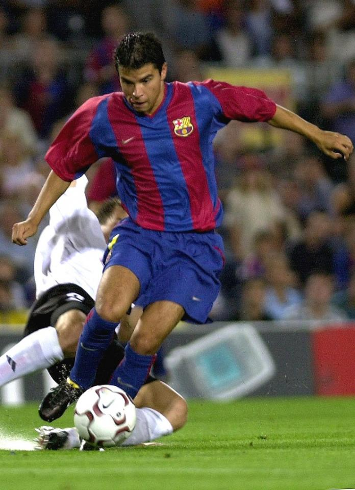 Javier Saviola (FC Barcelona - Legia Warszawa 3:0, 14.08.2002)