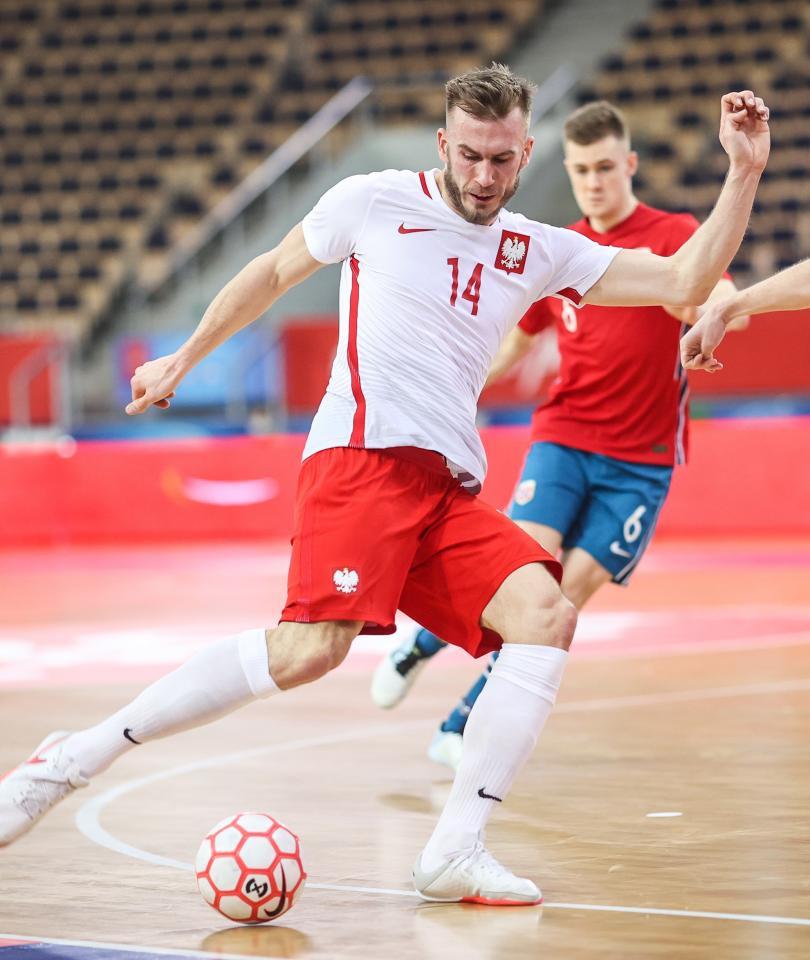 Norwegia - Polska 0:3 futsal (05.03.2021) Michał Marek