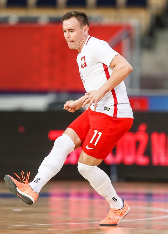 Polska - Norwegia 4:1 (09.03.2021) futsal Krzysztof Elsner