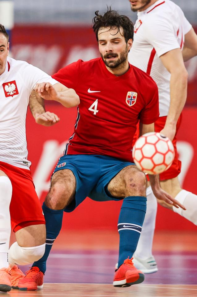 Polska - Norwegia 4:1 (09.03.2021) futsal Lars Røttingsnes