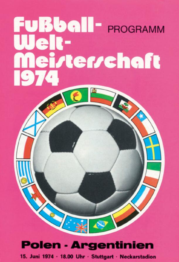 program z meczu polska - argentyna (15.06.1974)