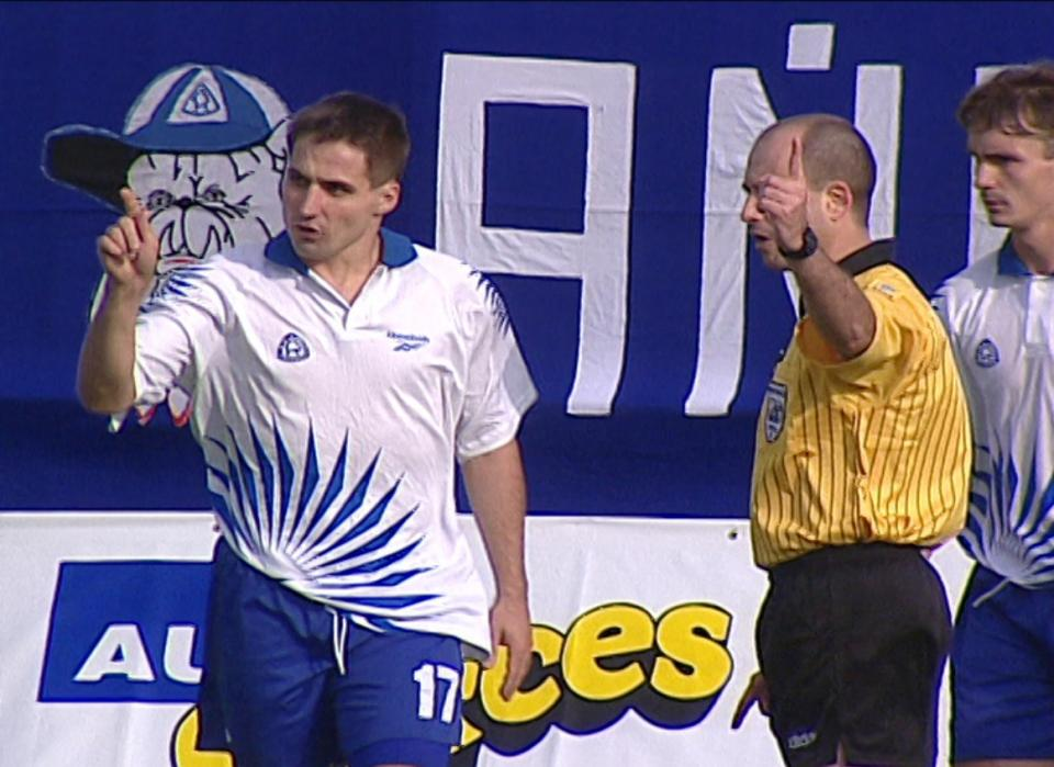 Ruch Chorzów – Bologna 0:2 (25.08.1998) Krzysztof Bizacki
